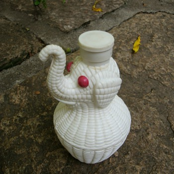 Vintage Talc Container. - Accessories