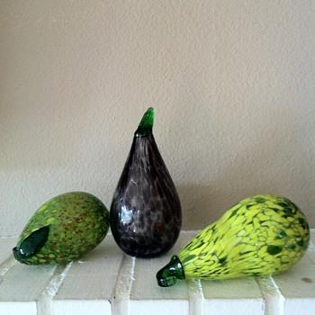 Murano Pears - Art Glass