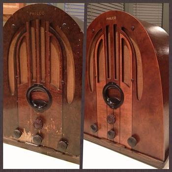 1937 Philco Restoration - Radios