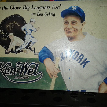 Lou Gehrig - NY Yankees Advertised.