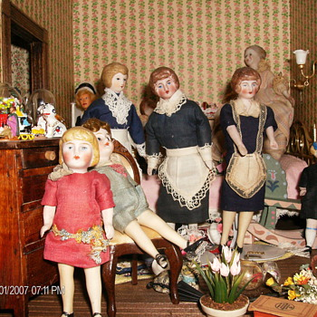 Doll House Dolls- Some New Some Old - Dolls