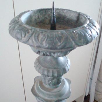 floor standing brass candlesticks - Lamps