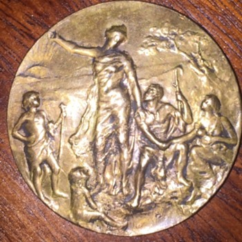 Zionist 2nd Congress Bronze Medal, Paris, 1898