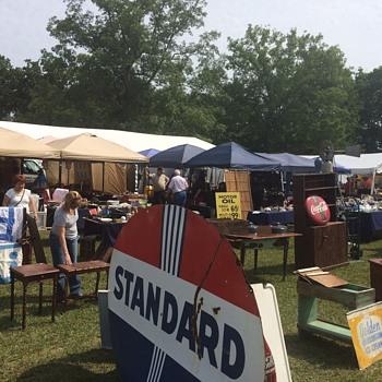 127 yard sale finds over the years  - Petroliana