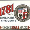 City Of Los Angeles Cigar Box Label