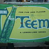 Vintage 1962 TEEM soda advertising sign. Awesome!