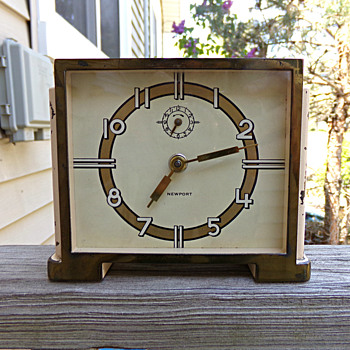 Deco Alarm Clock - Art Deco