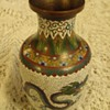 Chinese cloisonne vase?