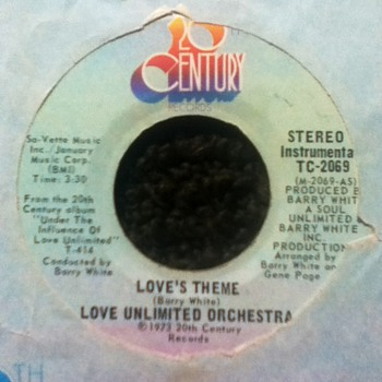 Barry White/Love Unlimited Orchestra 45 Record - Records