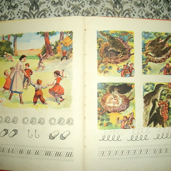 Old school book for children. - Books