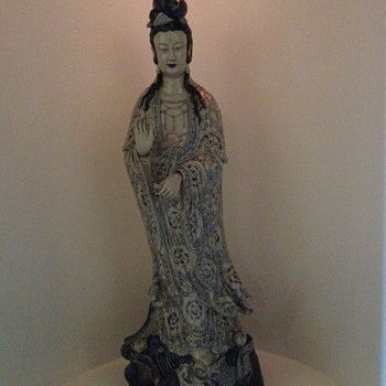 KWAN YIN 1423 MING DYNASTY   - Asian