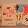 Vintage Charles Goren's Bridge For Two Card Game ~ 1964
