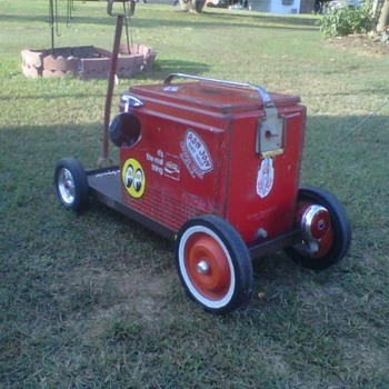 "My ""RatRod"" Coke Cooler - Coca-Cola"