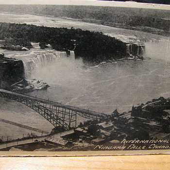 Old Postcard of Niagra Falls #2