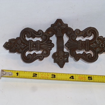 Please Help Identify This Cast Iron Piece