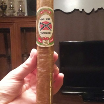 Confederate reunion cigar