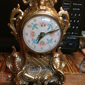 Brass Clock - Clocks