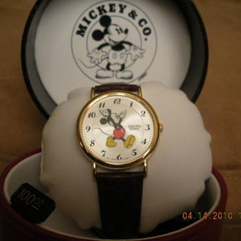 Late 80's early 90's Seiko Mickey - Wristwatches