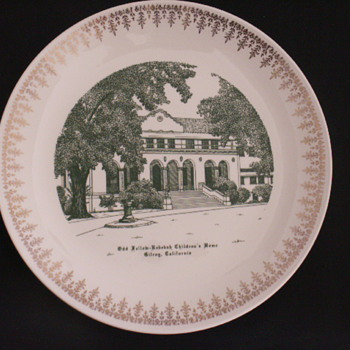 Rebekah Children's Home, Gilroy, CA. - China and Dinnerware