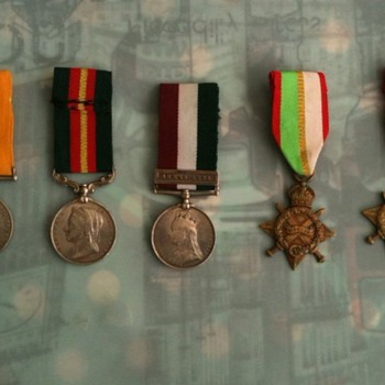 Medals and Certificate of my Grandfather given by British Army  - Military and Wartime