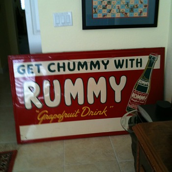 Huge Rummy Sign - Advertising