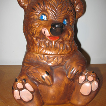 Brown Bear Cookie Jar