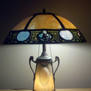 My unknown, beautiful table lamp