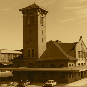 The Lackawanna Railroad's Binghamton, NY Station