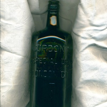 Gordon's Gin Bottle - Bottles