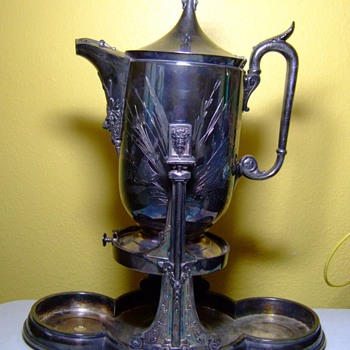 Water pitcher 1877 - Sterling Silver