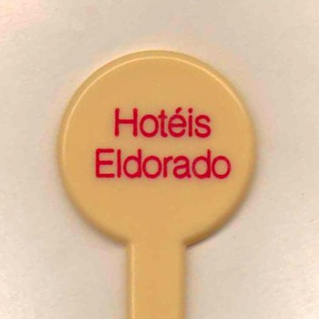 Hotel Eldorado (Brazil) - Drink Stirrer - Advertising