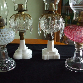 HOBBS, BROCKUNIER GLASS COMPANY, of Wheeling,West Virginia- Some Examples - Glassware