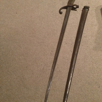 A French bayonet 19th 