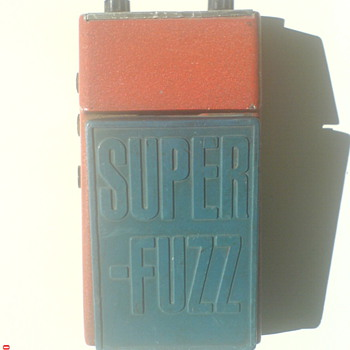 Univox Super-Fuzz, 70´s - Guitars
