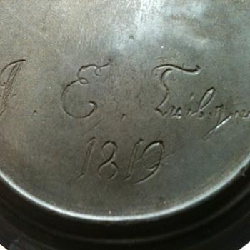 1819 Pewter Tankard - Breweriana