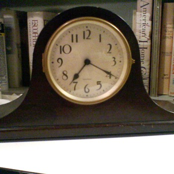 Antique Sangamo Mantle Clock circa 1930's