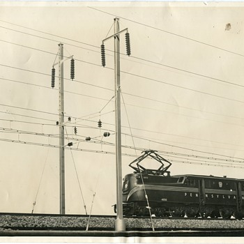 Pennsylvania Railroad GG1 #4850