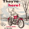 1957 Triumph Motorcycles Brochure