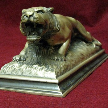 Desk Tiger, Henry, 1940 41 - Art Deco