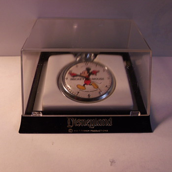1971 English Made Mickey Mouse Pocket Watch - Pocket Watches