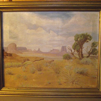 Monument Valley, By, W.H. Grundmann