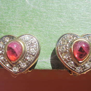 Heart shape earrings - Fine Jewelry