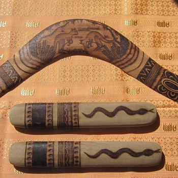 Boomerang & Clapper sticks