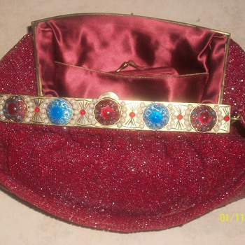  One of my favorite items left to me by grandmother morabito hand bag