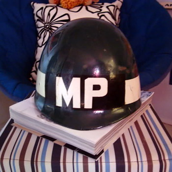 Military police helmet