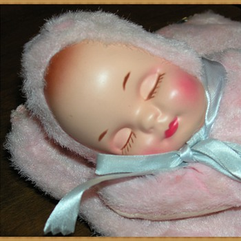 rushton sleeping baby doll? - Dolls