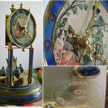 #49 JAHRE SUHRENFABRIK GERMANY  Dome Clock - Clocks