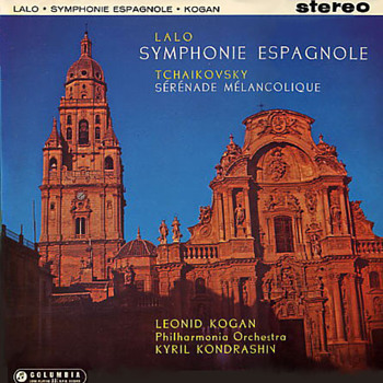Columbia SAX 2329 - Lalo - Symphonie Espagnole - Leonid Kogan - Kyril Konderashin