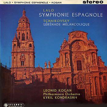Columbia SAX 2329 - Lalo - Symphonie Espagnole - Leonid Kogan - Kyril Konderashin