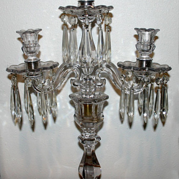 My Fav -- 3 Arm Crystal Candelabra